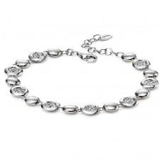 Fiorelli - CZ Pave Disc Bracelet