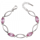 Fiorelli - Pink CZ Marquise Bracelet