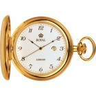 Royal London – Gold Plated Mechanical Pocket watch