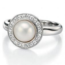 Fiorelli - CZ & Pearl Round Ring